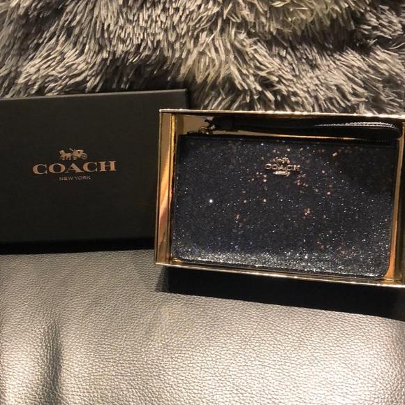 Coach Handbags - Brand new glitter coach wristlet